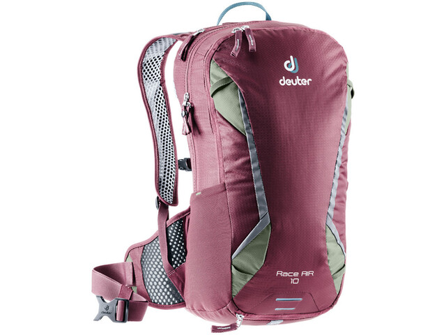 Deuter Race Air Rugzak 10l, maron/khaki